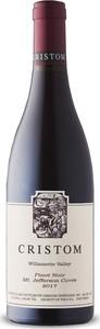Cristom Vineyards Mt. Jefferson Cuvée Pinot Noir 2017, Mt. Jefferson, Willamette Valley, Oregon Bottle