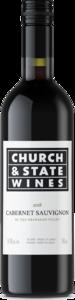 Church & State Cabernet Sauvignon 2018, VQA Okanagan Valley Bottle