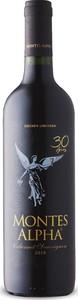 Montes Alpha Cabernet Sauvignon 2018, 30th Anniversary, Do Colchagua Valley Bottle