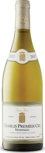 Olivier Tricon Montmains Chablis 1er Cru 2017, Ac Burgundy Bottle
