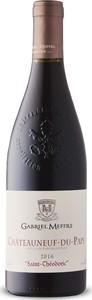 Gabriel Meffre Saint Théodoric Châteauneuf Du Pape 2016, Ap Rhône Bottle
