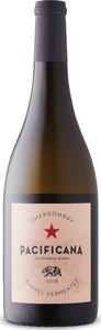 Pacificana Barrel Fermented Chardonnay 2018, California Bottle