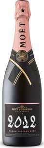 Moët & Chandon Grand Vintage Extra Brut Rosé Champagne 2012, Ac Champagne Bottle