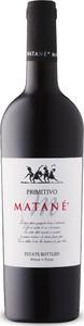 Matané Primitivo 2018, Igp Puglia Bottle
