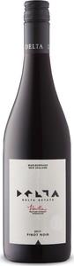 Delta Pinot Noir 2017, Marlborough, South Island Bottle