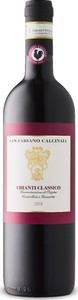 San Fabiano Calcinaia Chianti Classico Docg 2018 Bottle