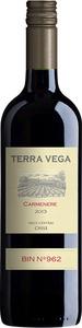 Terra Vega Carmenere 2020, Central Valley Bottle