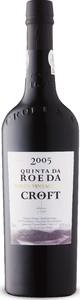 Croft Quinta Da Roeda Vintage Port (Bottled In 2007) 2005 Bottle