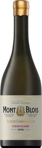 Mont Blois Estate Chardonnay Kweekkamp 2016 Bottle