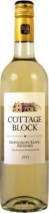 Cottage Block Sauvignon Blanc Riesling 2017, Niagara Peninsula Bottle