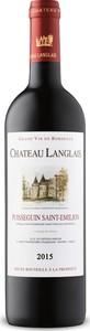 Château Langlais 2015, Ac Puisseguin Saint émilion Bottle