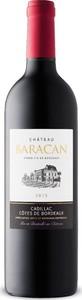 Château Baracan 2015, Ac Cadillac Côtes De Bordeaux Bottle
