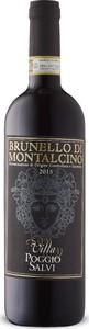 Poggio Salvi Brunello Di Montalcino 2015, Docg Bottle