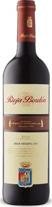 Bordón Gran Reserva 2011, Doca Rioja Bottle