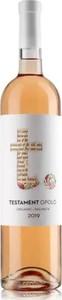 Testament Opolo Rose 2019, Dalmatia Bottle
