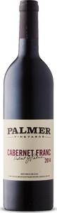 Palmer Vineyards Cabernet Franc 2014, New York Bottle