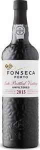Fonseca Late Bottled Vintage Port 2015, Doc Douro, Btld. 2011, Unfiltered Bottle