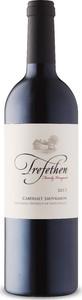 Trefethen Family Vineyards Cabernet Sauvignon 2017, Oak Knoll District, Napa Valley Bottle