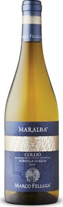 Marco Felluga Maralba Collio Ribolla Gialla 2019, Doc Collio Bottle