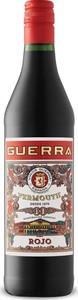 Guerra Rojo Vermouth Bottle