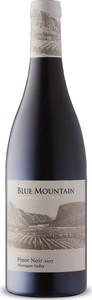 Blue Mountain Reserve Cuvée Pinot Noir 2017, Okanagan Valley Bottle
