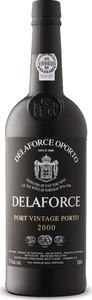 Delaforce Vintage Port 2000, Doc, Portugal Bottle