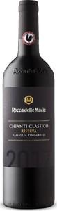 Rocca Delle Macìe Famiglia Zingarelli Riserva Chianti Classico 2017, Docg Bottle