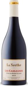 La Nerthe Les Cassagnes Côtes Du Rhône Villages 2018, Ap Bottle