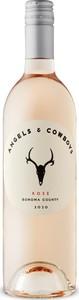 Angels & Cowboys Rosé 2020, Sonoma County Bottle