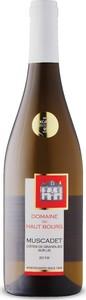 Domaine Du Haut Bourg Muscadet Côtes De Grandlieu 2018, Sur Lie, Ap Bottle
