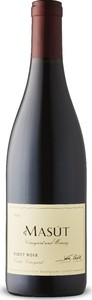 Masút Estate Vineyard Pinot Noir 2017, Estate Vineyard, Eagle Peak, Mendocino Bottle