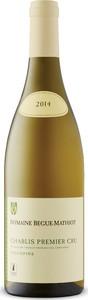 Begue Mathiot Chablis Premier Cru Vaucopins 2017, Ac Chablis Bottle