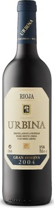 Urbina Gran Reserva 2004, Doca Rioja Bottle