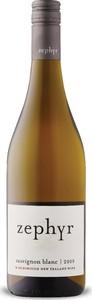 Zephyr Sauvignon Blanc 2019, Marlborough, South Island Bottle