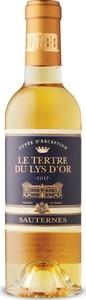 Le Tertre Du Lys D'or Cuvée D'exception Sauternes 2017, Ac (375ml) Bottle