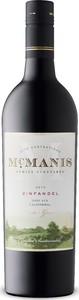 Mcmanis Zinfandel 2019, Lodi, California Bottle