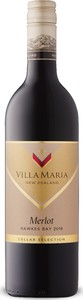 Villa Maria Cellar Selection Merlot 2018, Hawke's Bay, North Island Bottle