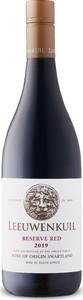 Leeuwenkuil Reserve Red 2019, Wo Swartland Bottle