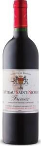 Château Saint Nicolas 1998, Ac Fronsac Bottle