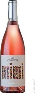 Cossetti Mimi Rosato 2019, Doc Piedmont Bottle