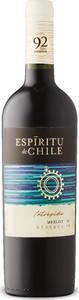 Espiritu De Chile Intrepido Reserva Merlot 2019, Do Curicó Valley Bottle