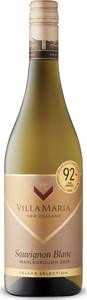 Villa Maria Cellar Selection Sauvignon Blanc 2020, Sustainable, Marlborough, South Island Bottle