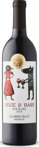 Dixie & Bass Red Blend 2018, Columbia Valley Bottle