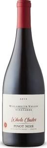 Willamette Valley Vineyards Whole Cluster Pinot Noir 2019, Willamette Valley Bottle