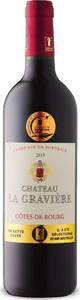 Château La Gravière 2015, Ac Côtes De Bourg Bottle
