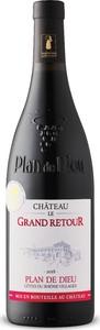 Château Le Grand Retour Plan De Dieu Côtes Du Rhône Villages 2018, Ac, Rhône Bottle