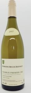 Begue Mathiot Chablis Premier Cru Fourchaume Vieille Vigne 2017, Ac Chablis Bottle