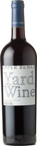 Upper Bench Yard Wine 2017, Okanagan Valley Bottle