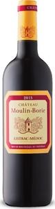 Château Moulin Borie Listrac Médoc 2015, Ac Listrac Médoc Bottle