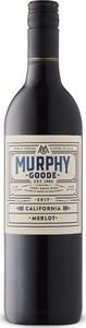 Murphy Goode Merlot 2017, California Bottle
